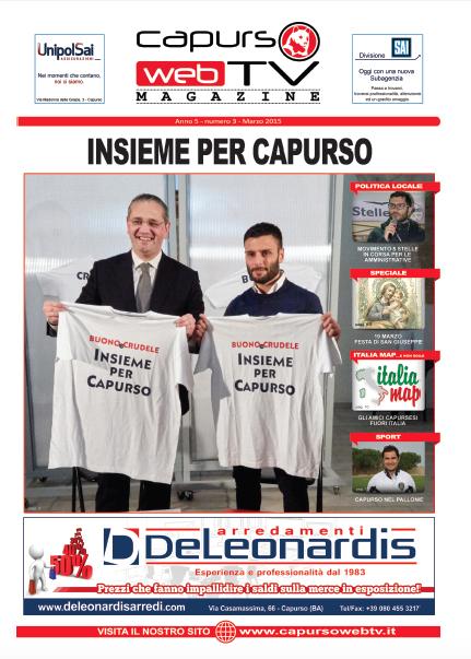 Capurso Web Tv Magazine n°3 anno 5
