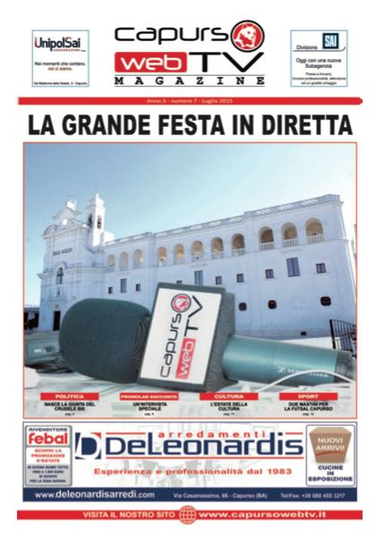 Capurso Web Tv Magazine n°7 anno 5