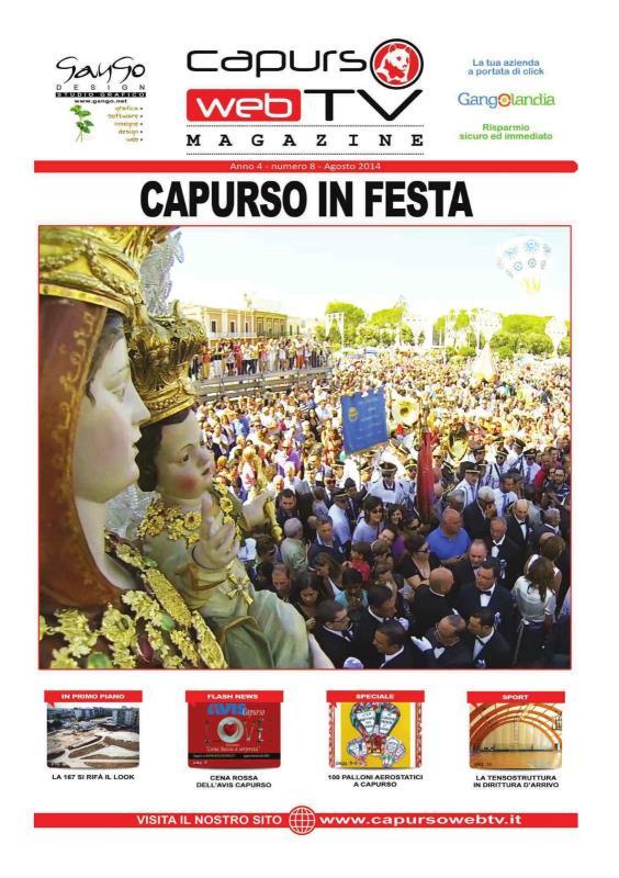 Capurso Web Tv Magazine n°8 anno 4